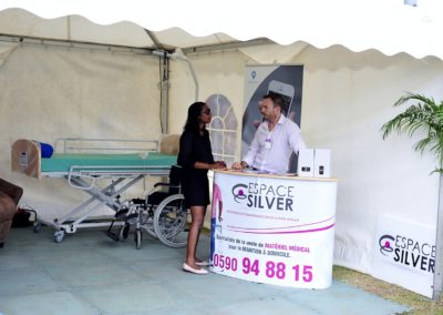 Stand Espace Silver